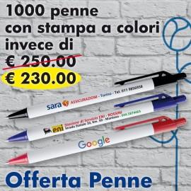 Offerta Penne Stampa a Colori