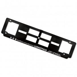 Art. 854 Portatarga posteriore plastica