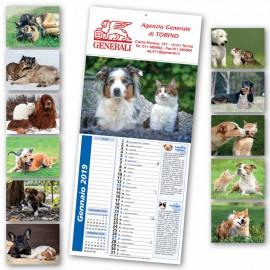 Art. 5601 Calendario Cani e Gatti + Note