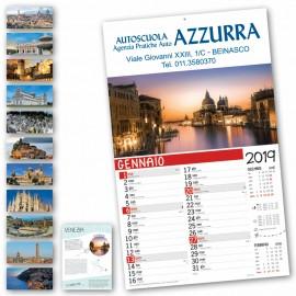Art. 5002 Calendario Città d'Italia