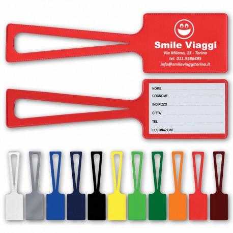 Art. 090 Etichetta bagaglio con cartoncino