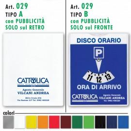 Art. 029 Disco Orario da Cruscotto