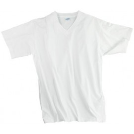 articolo-968-t-shirt-collo-v-bianca