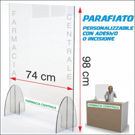 Art. 2020 Parafiato plexiglass