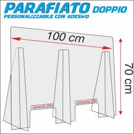 Art. 2020D Parafiato plexiglass Doppio