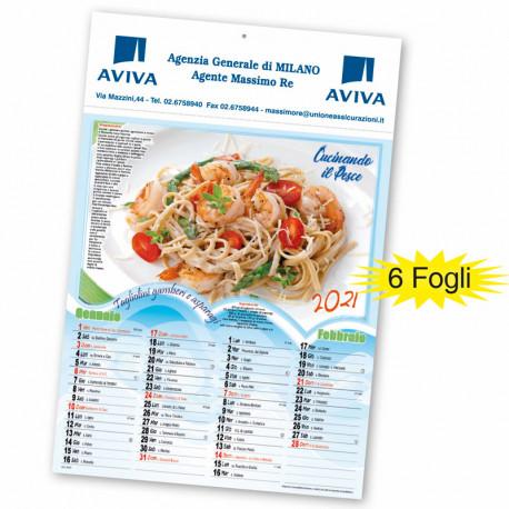 Art. 5390 Calendario Cucina