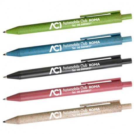 Art. 20815 - Penna in Paglia Refil Blu.