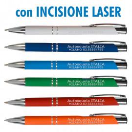 Art. 19818L - Penne Alluminio Laserate Refil Nero