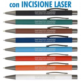 Art. 19819L - Penne Metallo Laserate Refil Nero