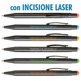 Art. 20801L - Penne Alluminio Laserate Refil Nero