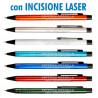 Art. 20803L - Penne Alluminio Laserate Refil Blu