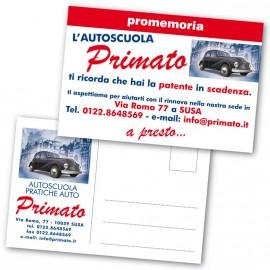 Art. CART Cartolina 10x15 Cm.