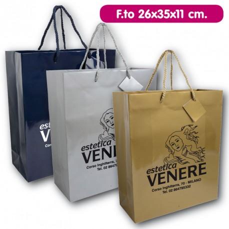Art. 15125 Shopper in Carta Laminata