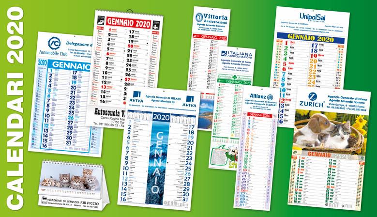 Calendari Personalizzati 2020