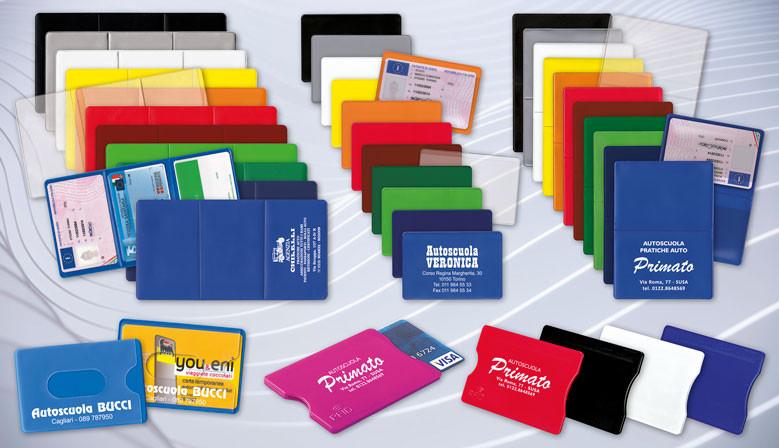 Portapatenti e portacard personalizzati